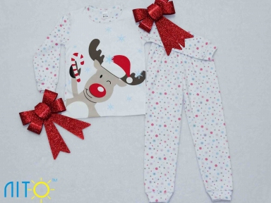 Пижама  - Рождественский олень