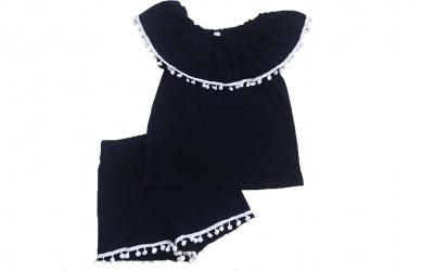 932fc127122efb Комплект з шортами - Чорний